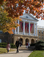 Bascom Hill in Autumn