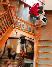 Bascom hall staircase